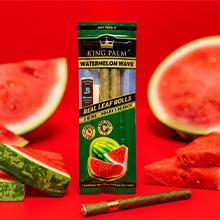 King Palm Watermelon Wave Flavored Palm Wraps