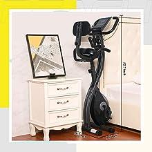 Portable Folding Contempo Exercise Bike