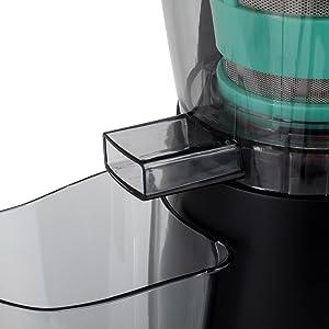 IKOHS WONDERVIT - Licuadora para Verduras y Frutas, 200W, Extractor de Zumos Boca Ancha 8, 3 cm, Extractor de Jugos Libre de BPA, Extracción Lenta Slow Juice, Base Antideslizante, Antigoteo: Amazon.es