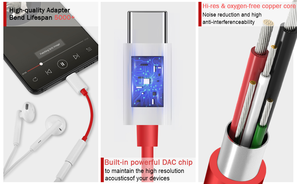 usb c to 3.5mm adapter
