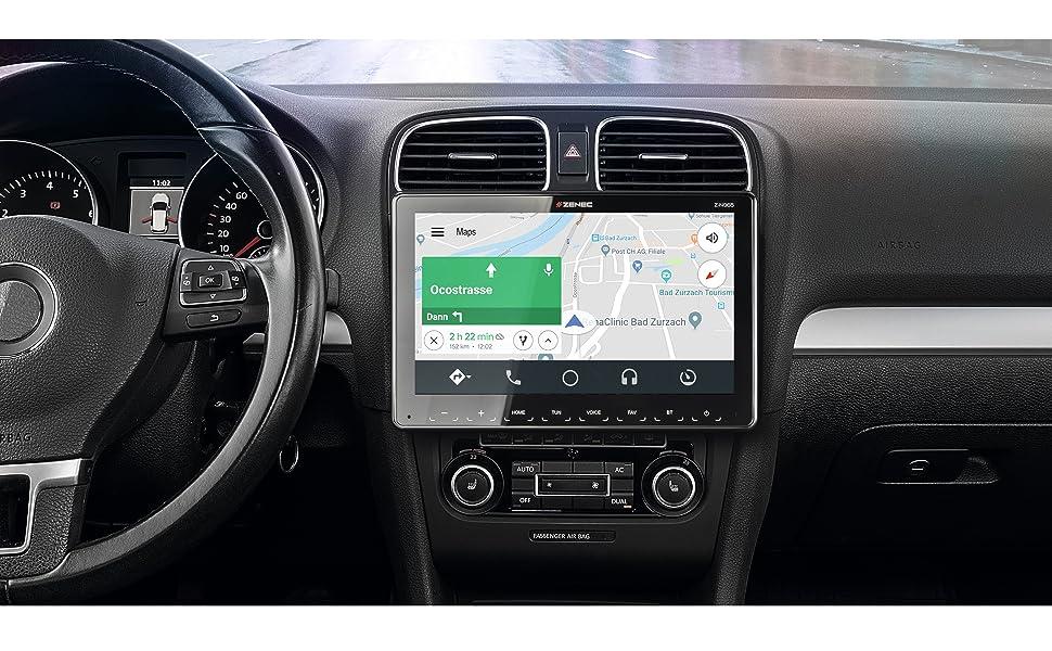 Z-N965: Infotainer, Navigation, Multimedia, DAB Autoradio