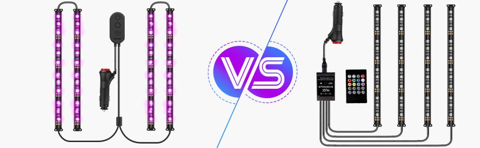 led strip lights for car