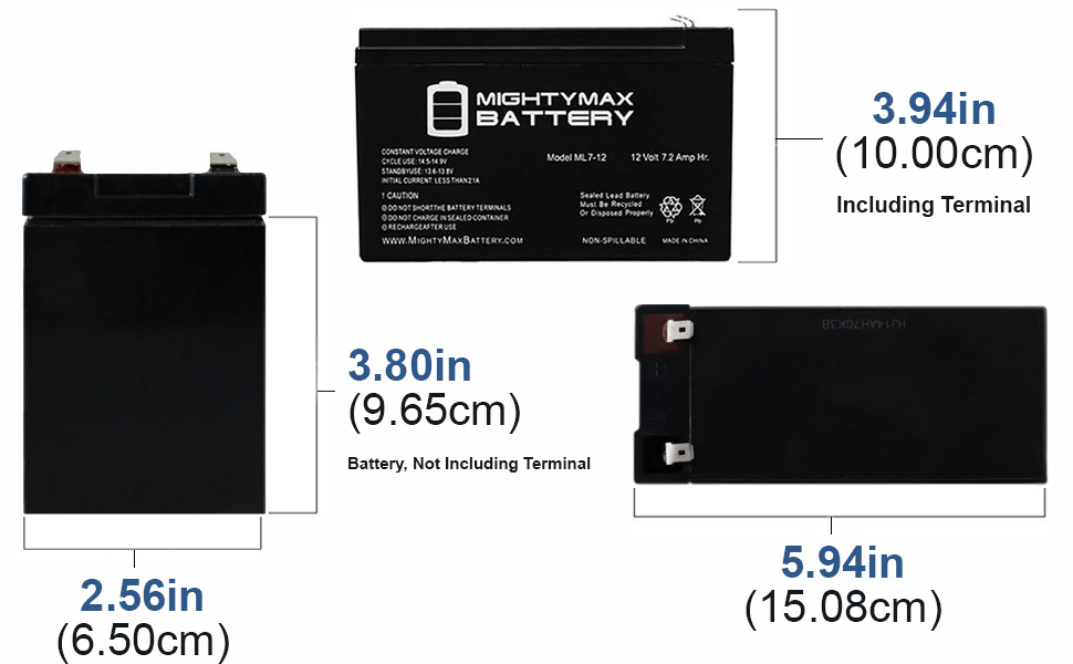 LightAlarms PG2 Compatible Replacement Battery