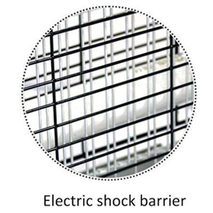 Electric shock barrier