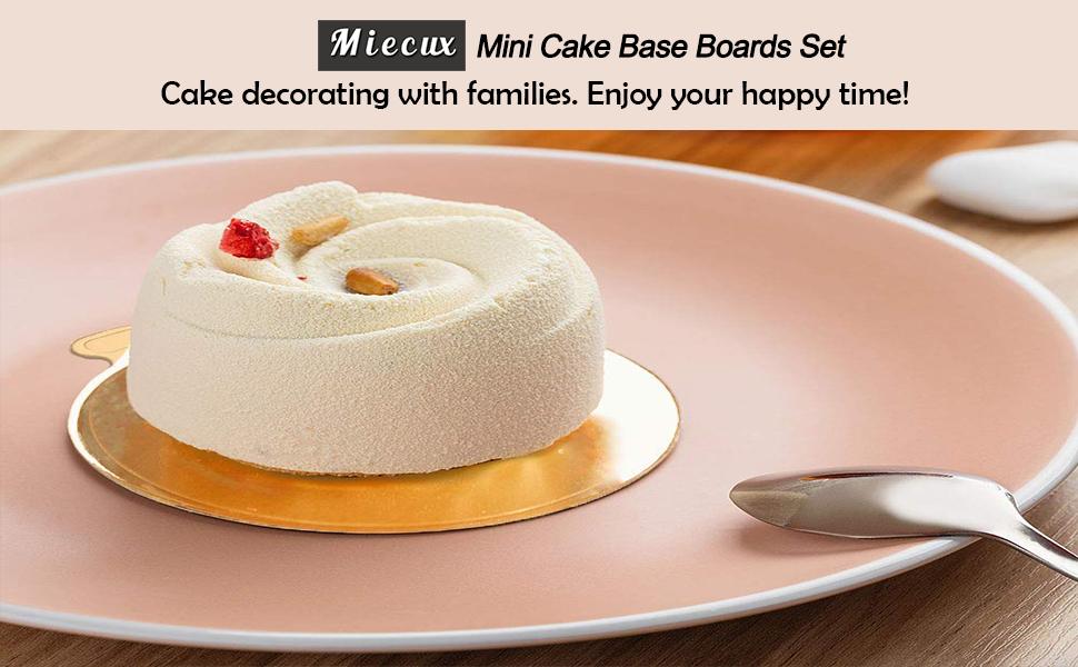 Mini Cake Base Boards