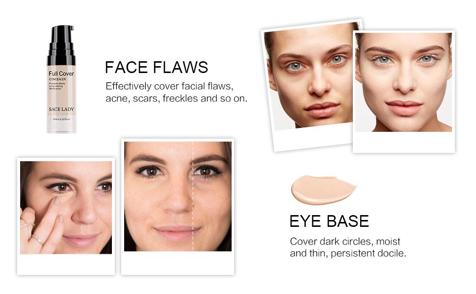 face flaws eye base concealer makeup