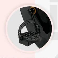 strap pedal contempo folding bike
