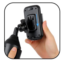 Universal Adjustable Cup Holder Cradle Car Mount for Cell Phone iPhone smartphone