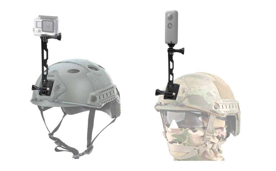 vgsion tactical  helmet camera mount
