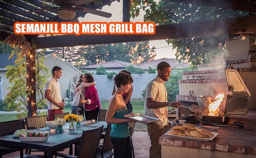 BBQ MESH GRILL BAG