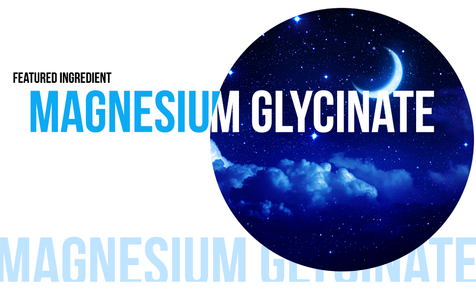 is a special form of magnesium that's bound to a glycine amino acid