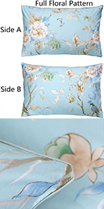 800TC Blue Bird Pillowcases
