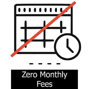 zero monthly fees no fees no subscription service no additional fee smart garage door service