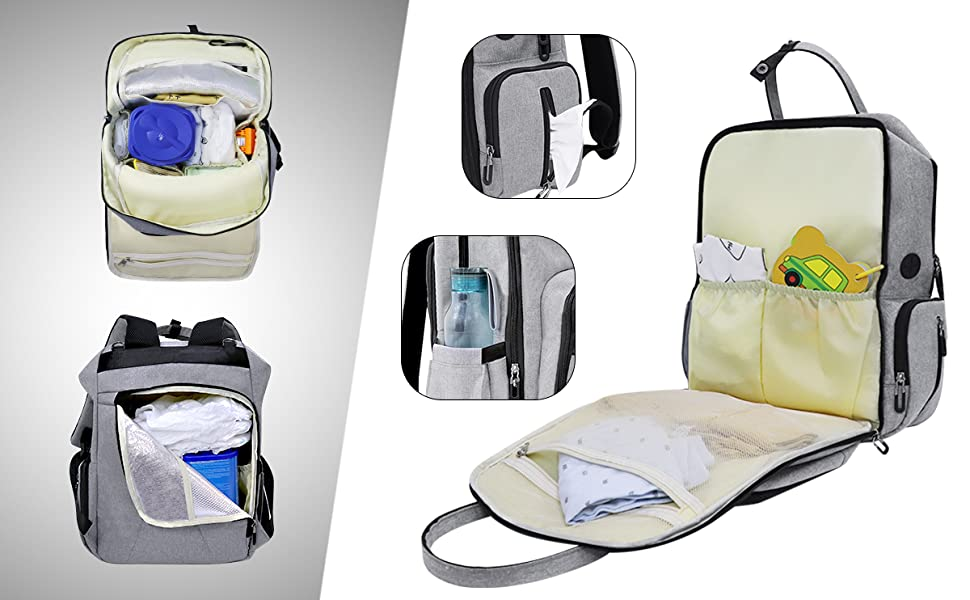 Mummy and Daddy Backpack