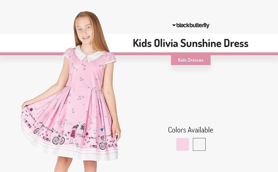 Kids Olivia Sunshine Dress