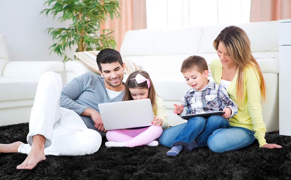 cute family rug