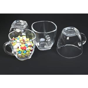 square tea cup set