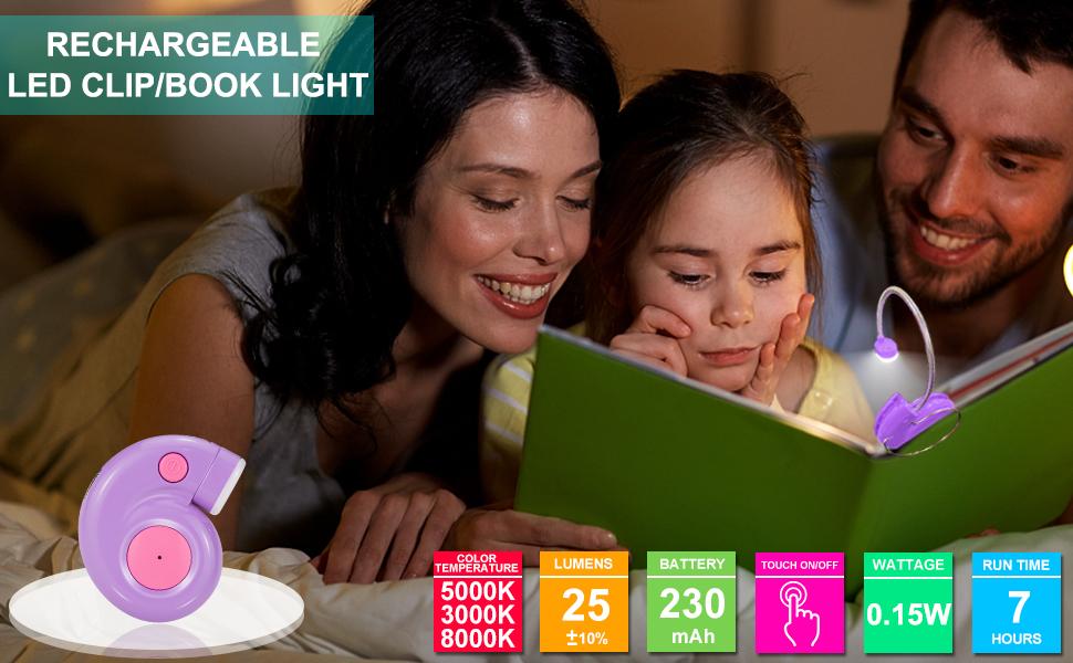 kids book light