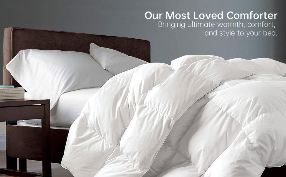 goose down comforter blanket duvet insert cal king down hypoallergenic twin queen king comforter