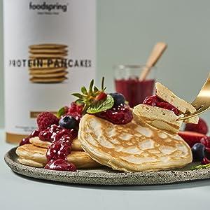 pancakes proteines
