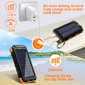solar battery pack  solar charger