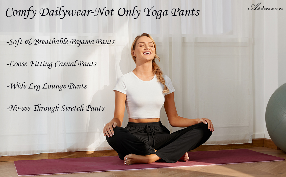soft comfy casual pants for women