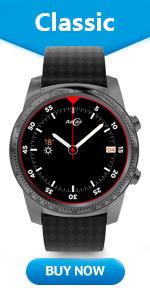 Amazon.com: AllCall Waterproof Smart Watch Android Men IP68 ...