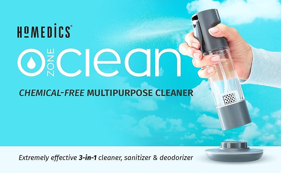 disinfectant spray bottle air ozone generator odor eliminator cleaner portable oxygen concentrator