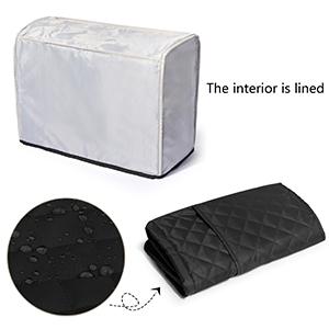 Cubierta de polvo para máquina de coser