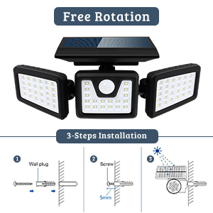 solar sensor lights outdoor