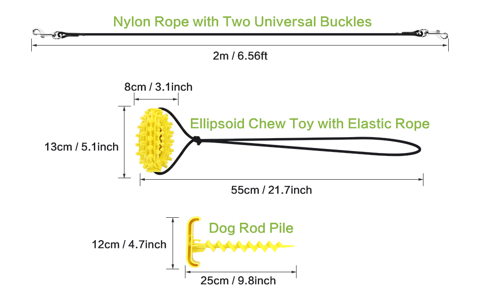 dog tethers for outdoors