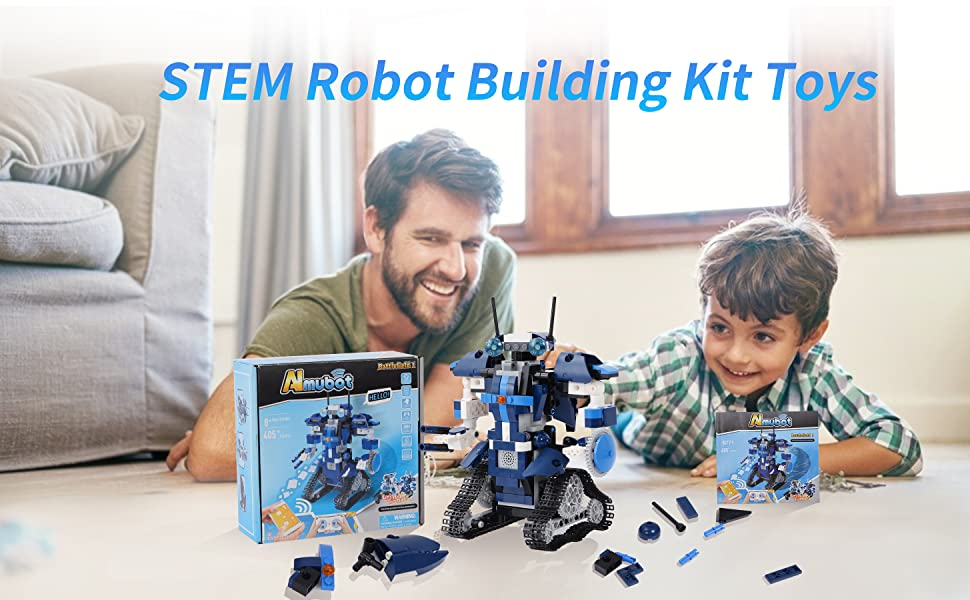 STEM Remote-Contral Robot Building Toy