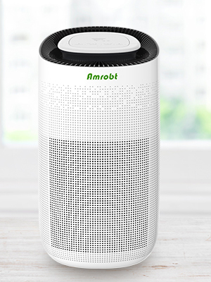 max  Amrobt Smart Wi-Fi Air Purifier for Home Large Room with True HEPA Filter.4-layer Filtration, Odor Eliminator for Allergies and Pets, Ionic & Sterilizer, Air Cleaner for Office & Home, Rid of Mold, Smoke, Odor. Works with Alexa f2b796f1 8e01 48d9 97a7 8eceae18f348