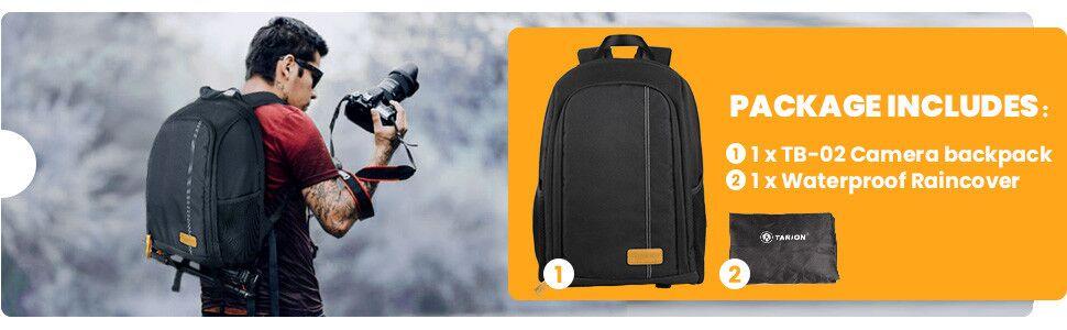 camera backpack waterproof