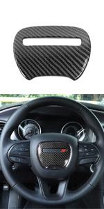 Voodonala for Charger ABS Carbon Fiber Door Handles Trim for 2010-2019 Dodge Charger 4pcs