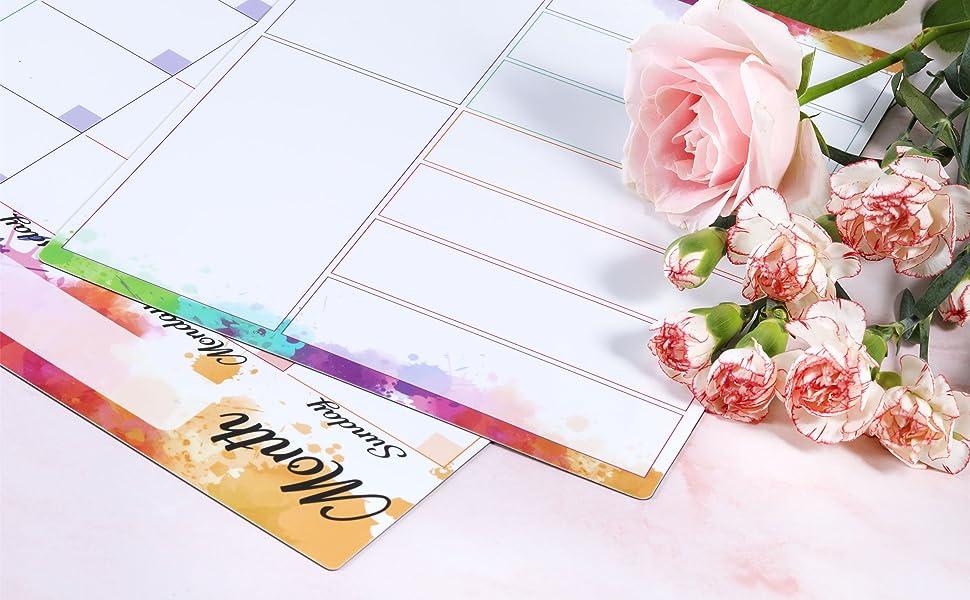 magnetic calendar for refrigerator