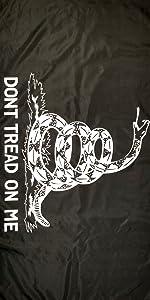 black gadsden flag