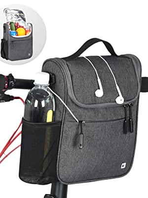 Multifunction Bicycle Front Tube Bag
