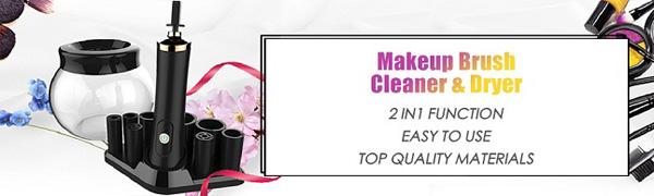 2 in 1 makeup brush cleaner