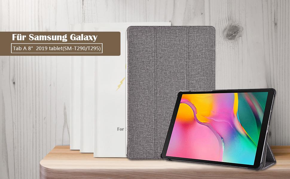 Procase Hülle Klapphülle Für Galaxy Tab A 8 0 Zoll 2019 Elektronik