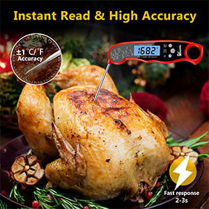 instant read meat digital thermometer