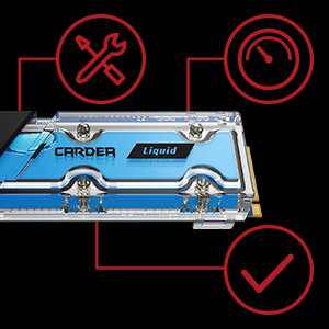 TEAMGROUP CARDEA LIQUID M.2 WATER COOLING PCIe NVMe SSD