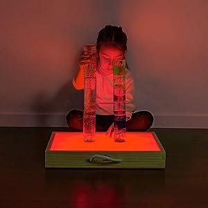 Mesa De Luz - Mesas De Luz Montessori - Caja de luz Montessori ...