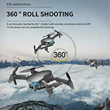 360 DEGREE ROTATING DRONE
