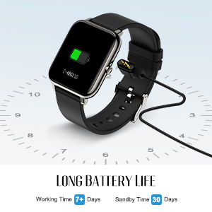 fall detection smart watch for android phones women  waterproof smart watch android compatible
