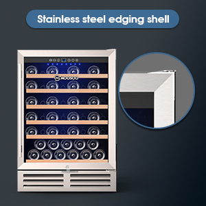 Stainless Steel Edging Shell