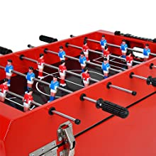 UPHA 68 quart rolling patio cooler for outdoor pool party foosball table top