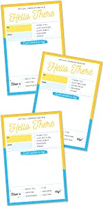 Hello There Greeting Postcards