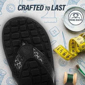 durable, handcrafted flip flops for men, durable and hand crafted men's slippers
