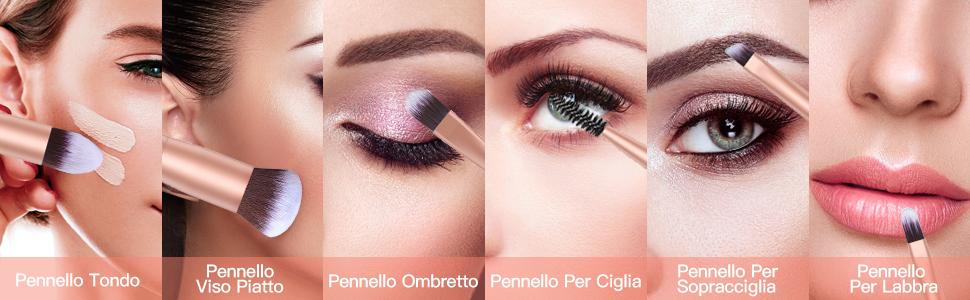 Pennelli Make Up